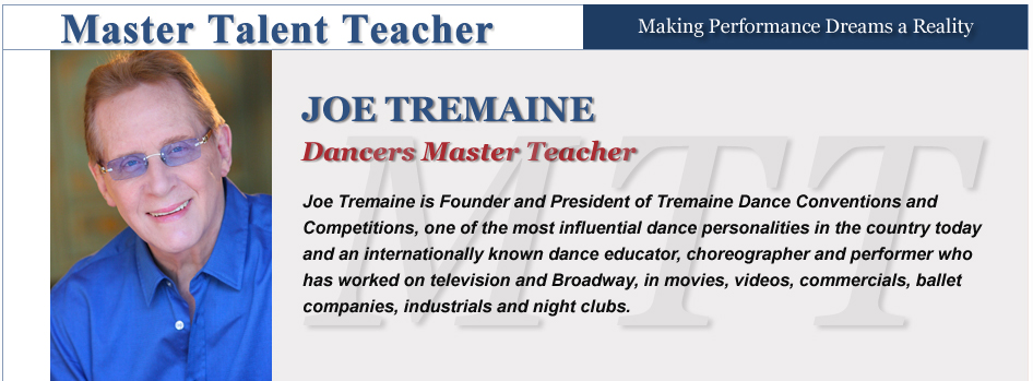 Dancers - Joe Tremaine