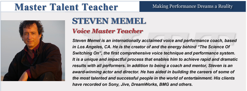 Voice - Steven Memel