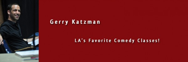 Comedy Master Teacher Gerry Katzman