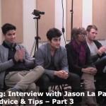 Casting Director Jason La Padura