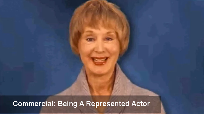 Being a commercially represented actor