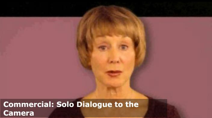 Commercials: solo dialogue