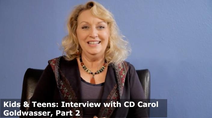 Interview with Carol Goldwasser Part 2
